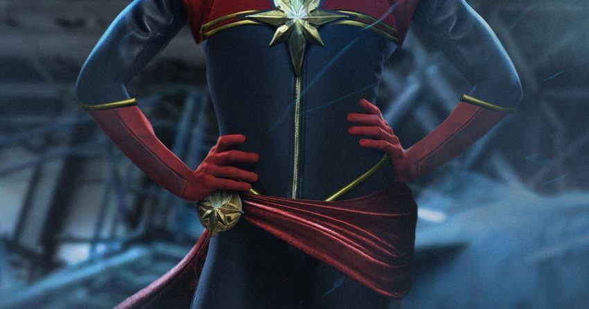 Photo par BossLogic de Captain Marvel incarnée par Brie Larson