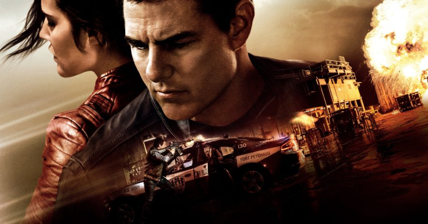 Bannière du film Jack Reacher: Never Go Back avec Tom Cruise
