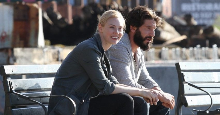 Photo du tournage de The Punisher avec Deborah Ann Woll (Karen Page)