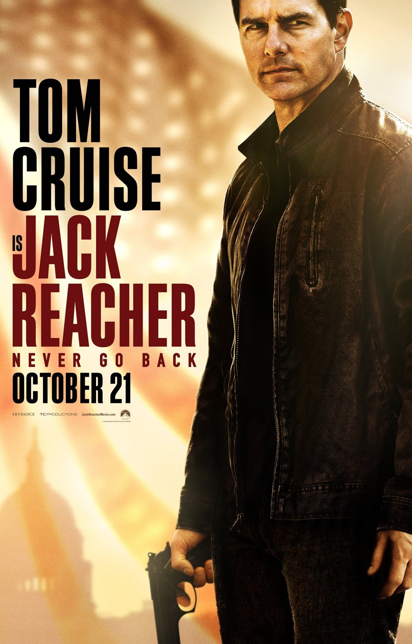 Poster de Jack Reacher: Never Go Back