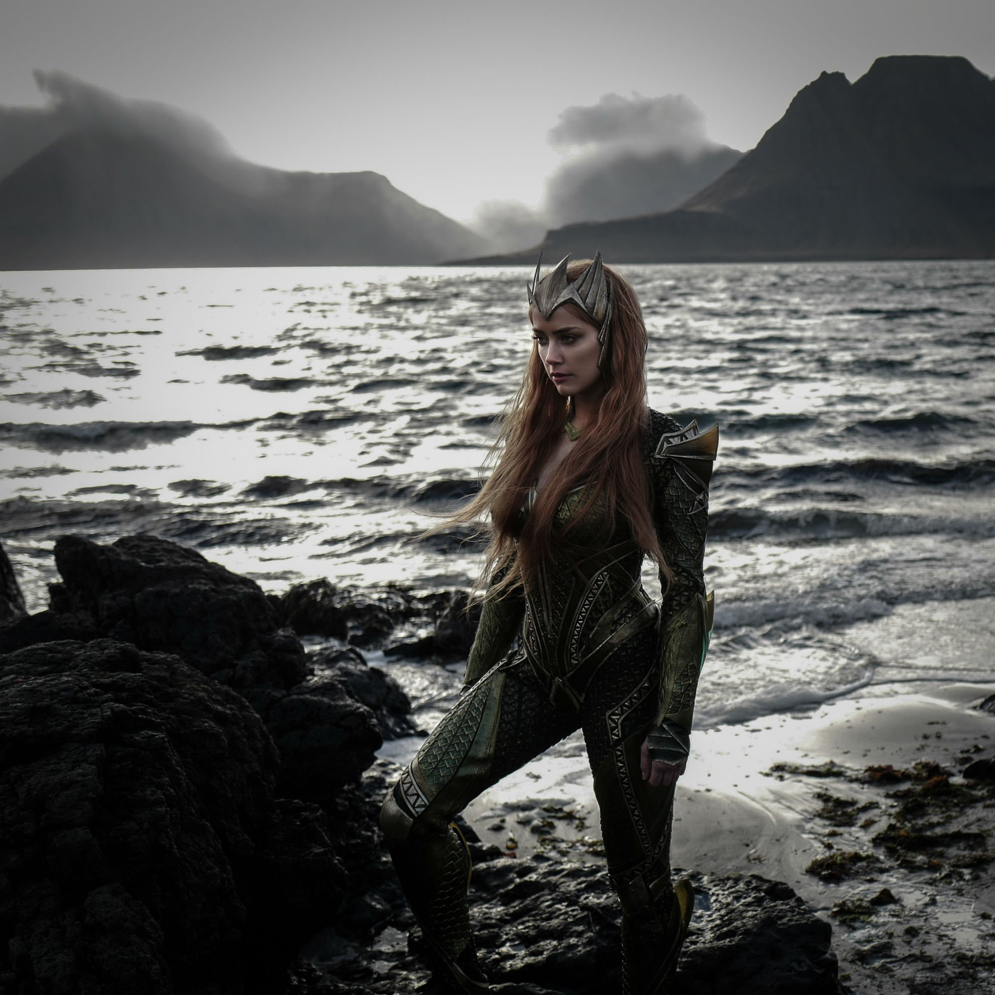 Photo de Justice League avec Amber Heard dans le rôle de Mera