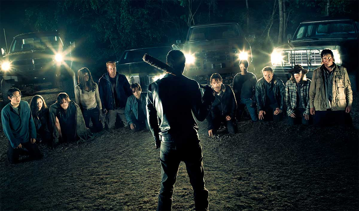 Photo de la saison 7 de The Walking Dead avec Negan