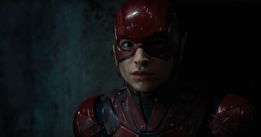 Photo de The Flash (Ezra Miller) dans la bande-annonce de Justice League