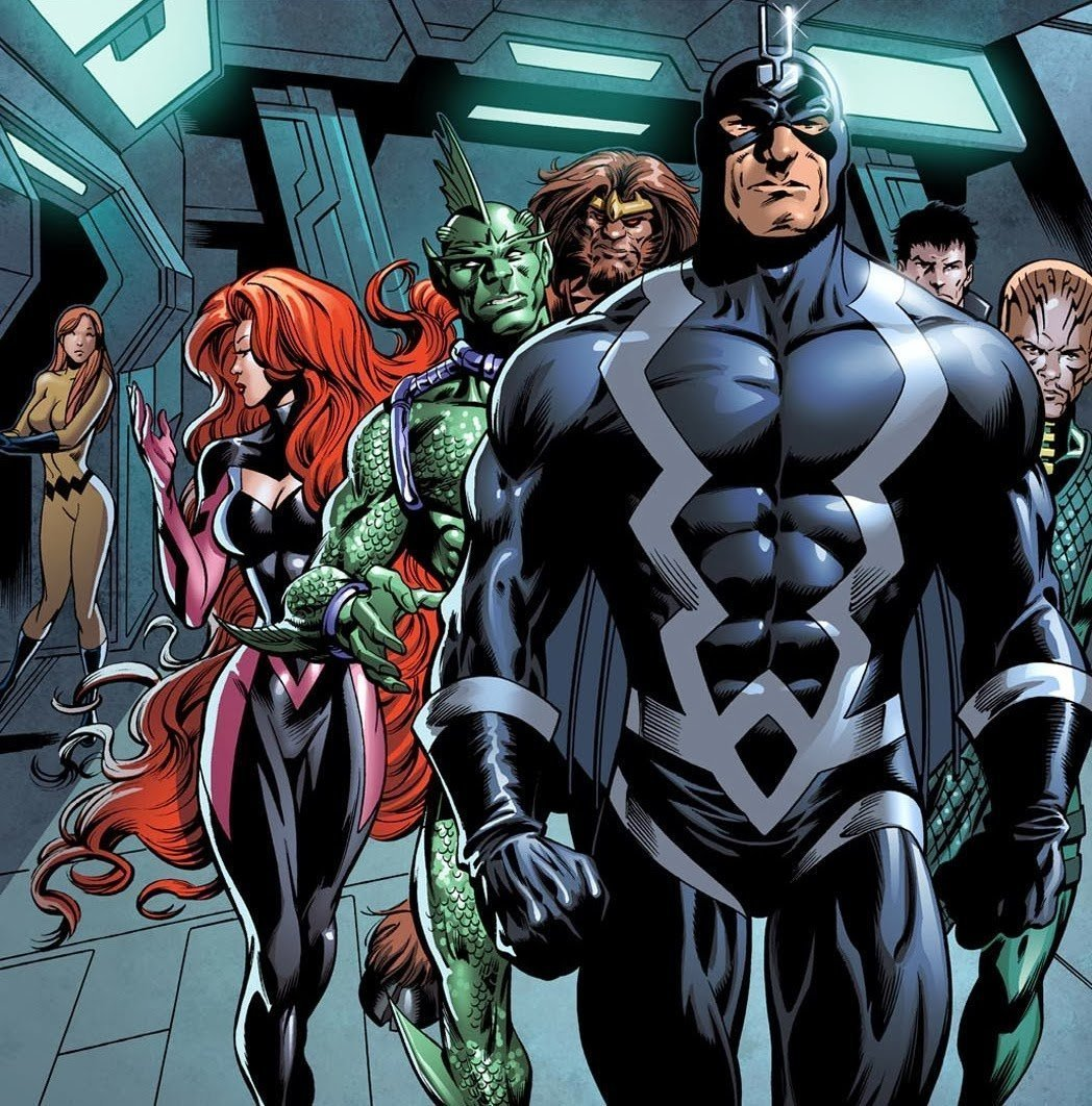 Image de The Inhumans (Marvel Comics)