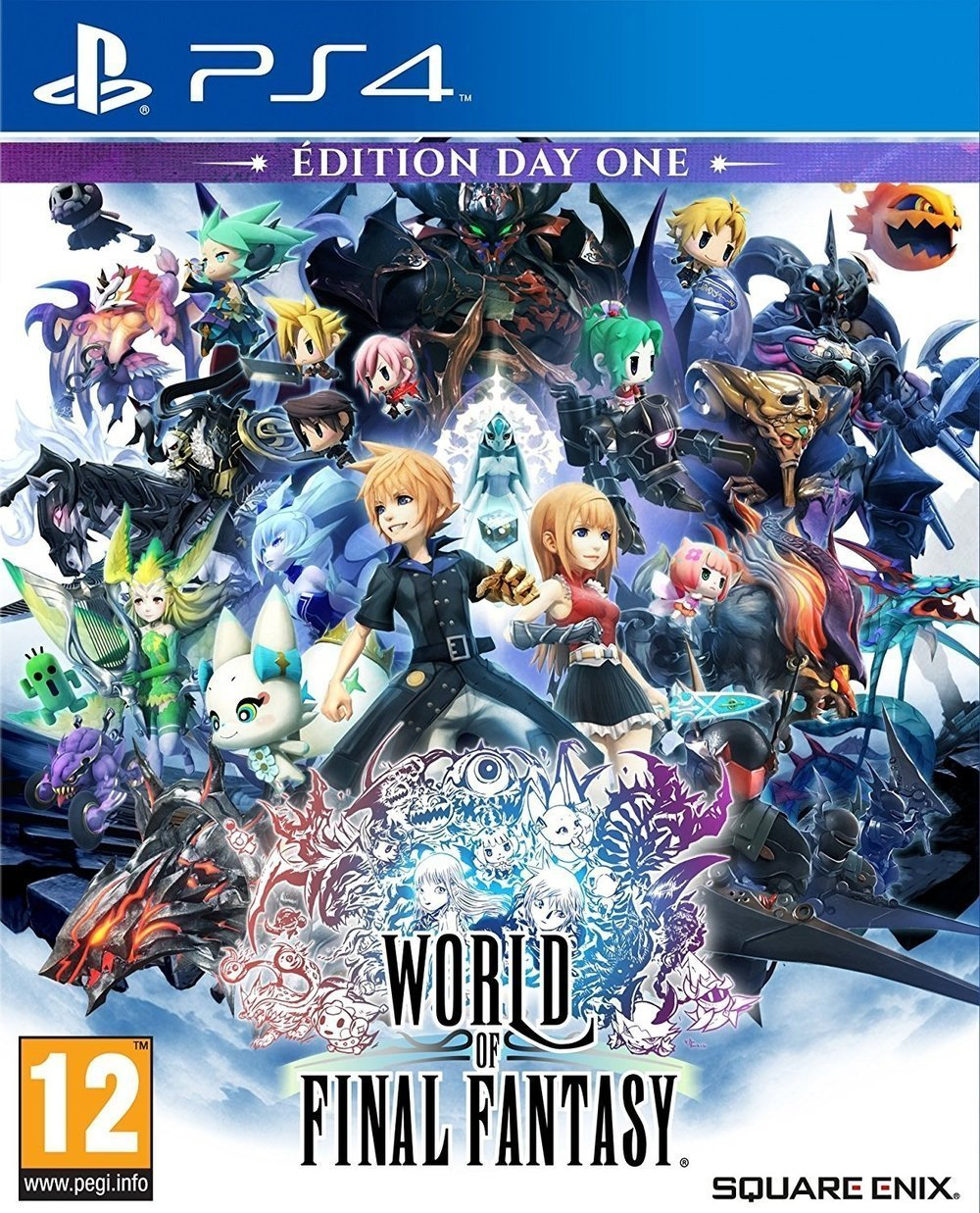 Couverture de World of Final Fantasy sur PlayStation 4
