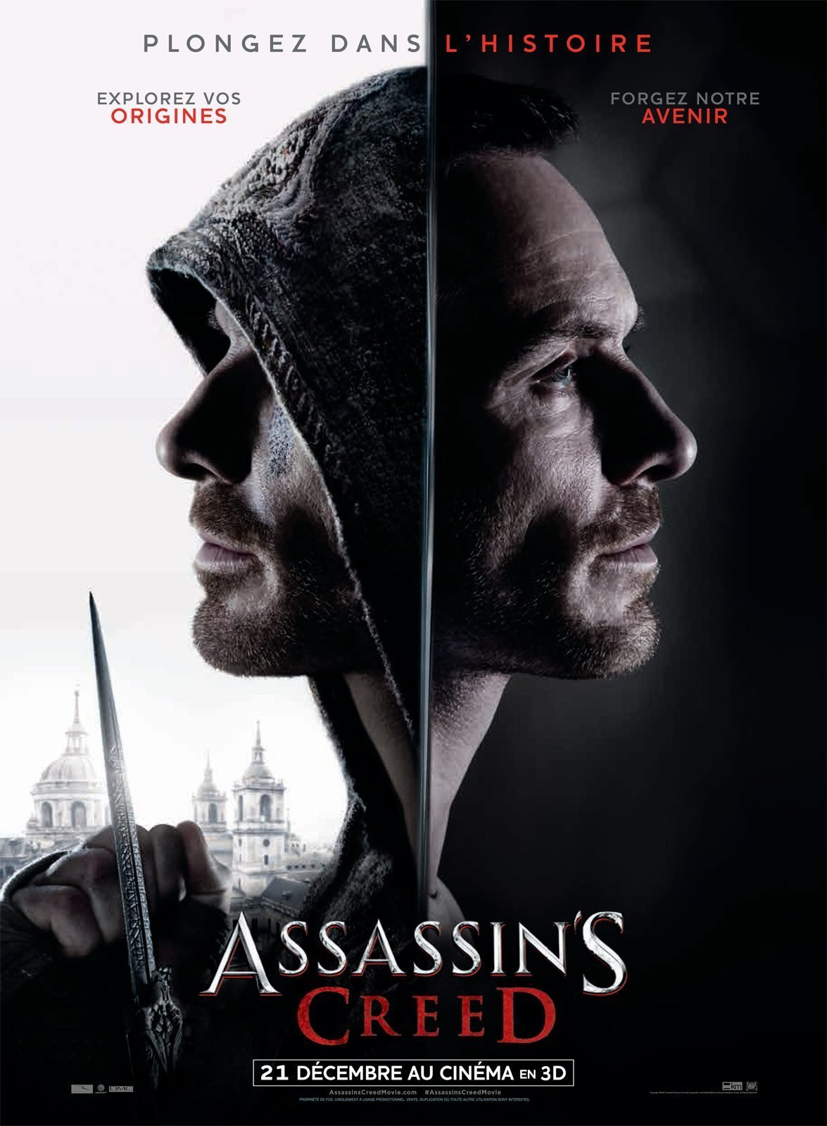 Affiche française d'Assassin's Creed