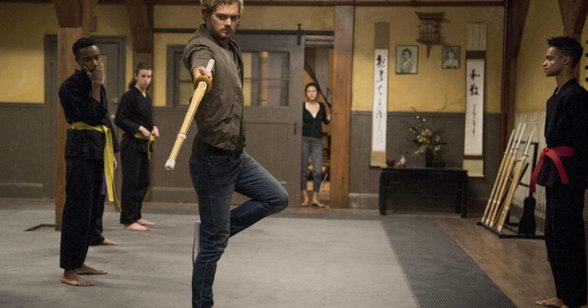 Photo de la saison 1 d'Iron Fist avec Danny Rand