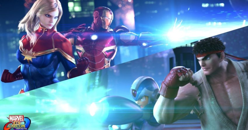 Image de Marvel vs. Capcom: Infinite avec Captain Marvel et Iron Man vs. Mega Man et Ryu