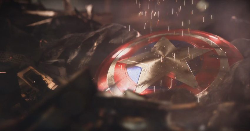 Image du trailer de The Avengers Project avec le bouclier de Captain America