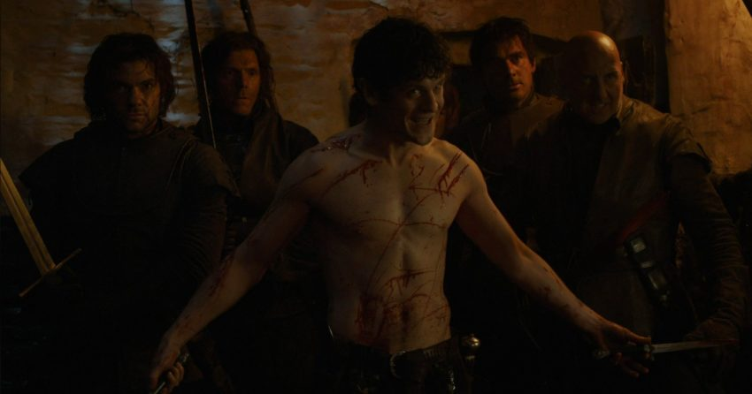 Photo de Ramsay Bolton (Iwan Rheon) dans la saison 4 de Game of Thrones