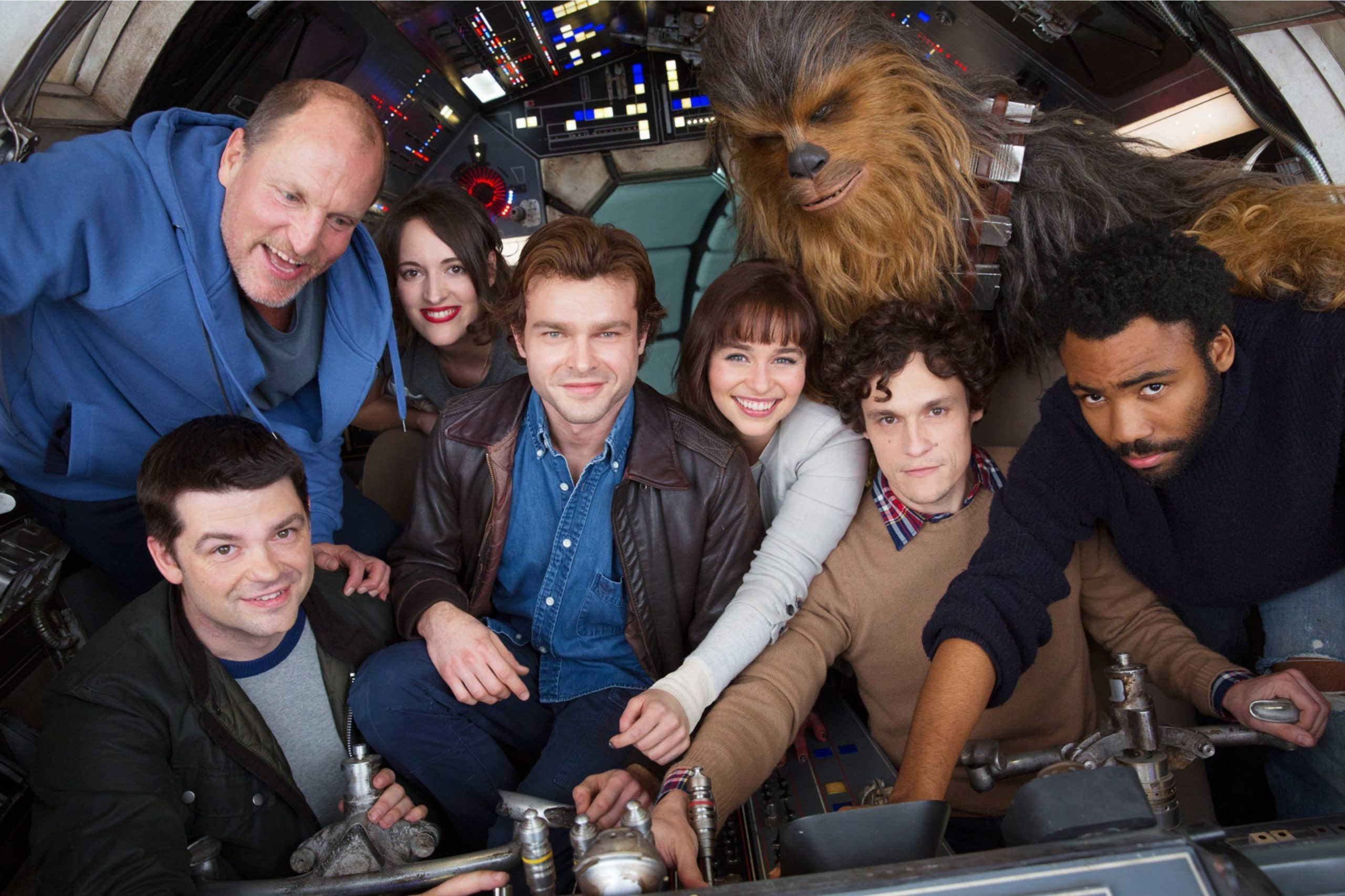 Photo du casting d'Han Solo: A Star Wars Story
