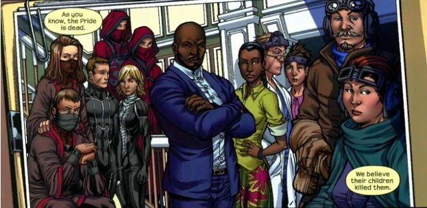 Image de l'organisation The Pride (Runaways 3)