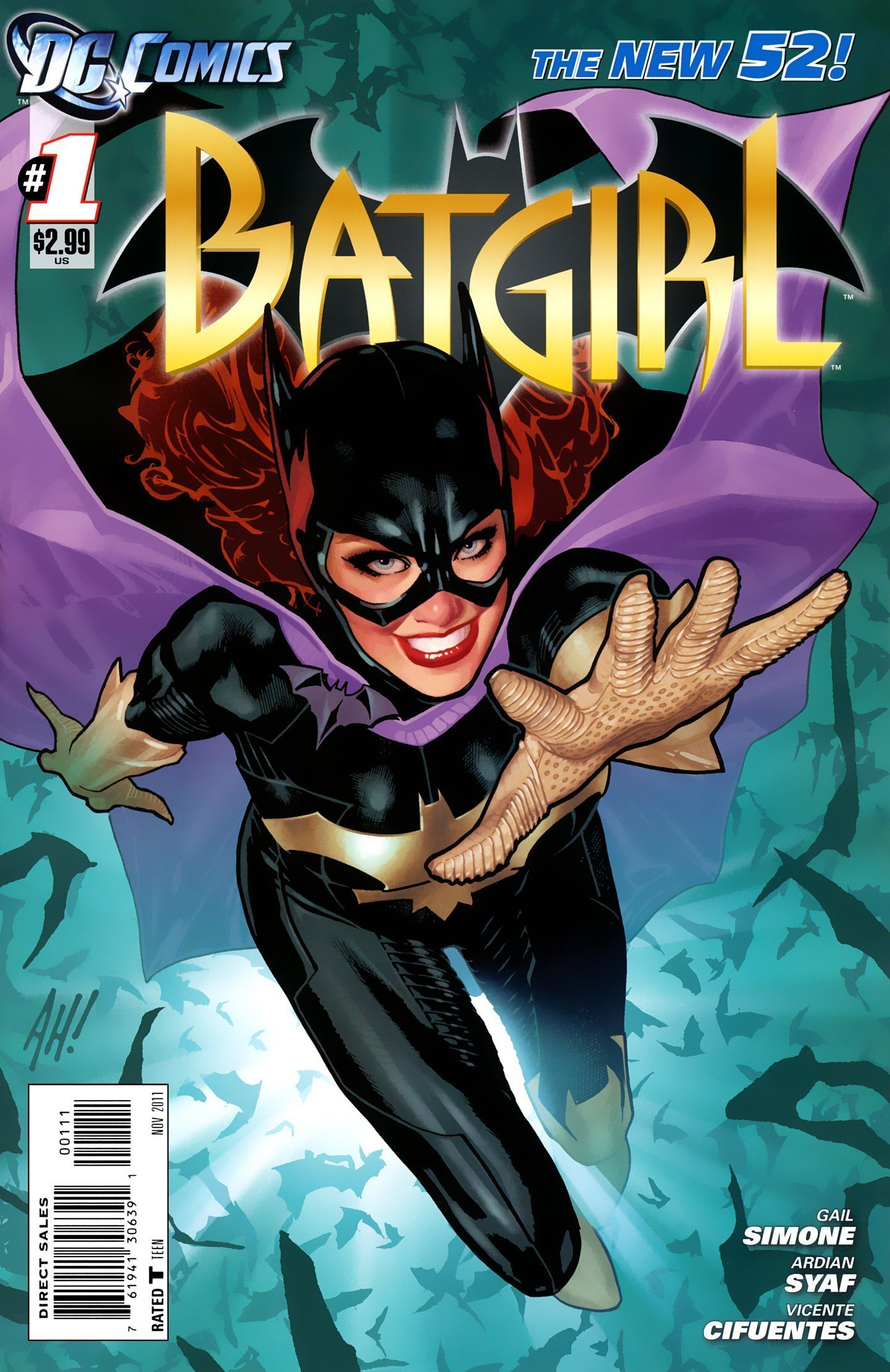 Couverture du comic DC, Batgirl Vol 4 1 (New 52)