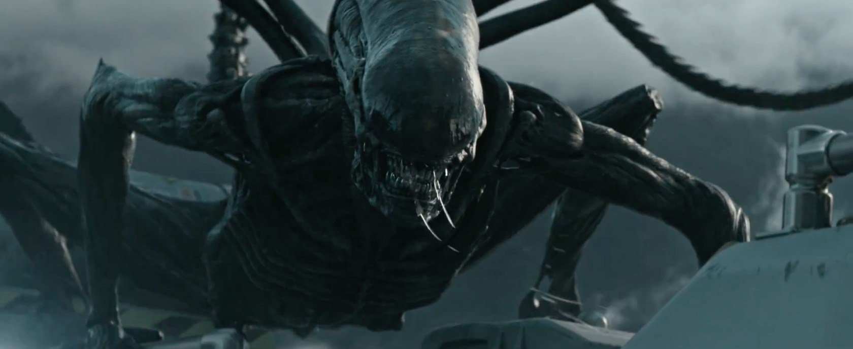 Photo du film Alien: Covenant avec l'Alien qui attaque
