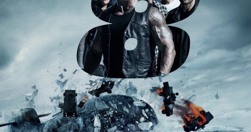Poster IMAX du film Fast & Furious 8