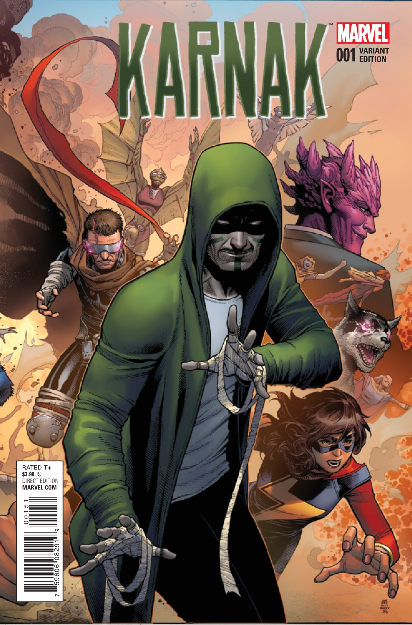 Couverture alternative de Karnak 001