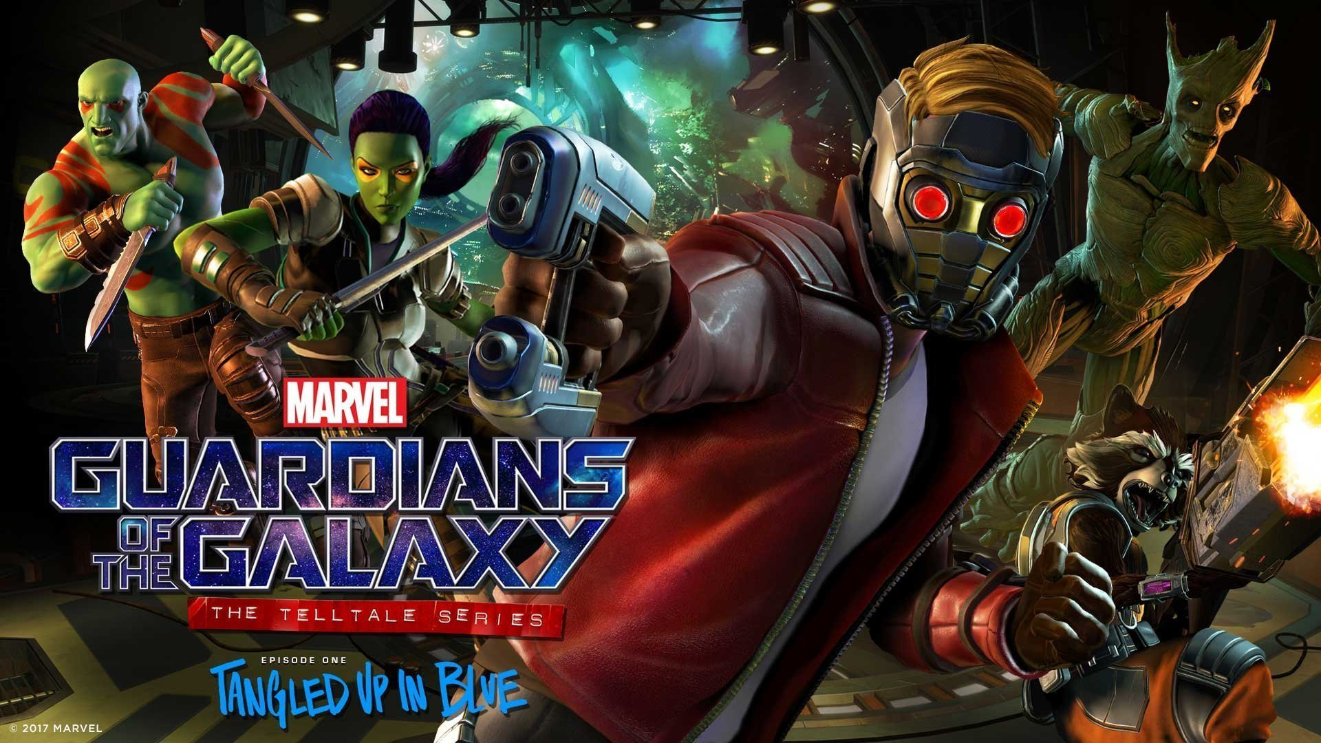 Image du premier épisode de Guardians of the Galaxy: The Telltale Series