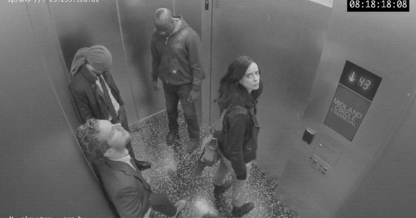 Photo de l'extrait Midland Circle Security Elevator B pour la série The Defenders