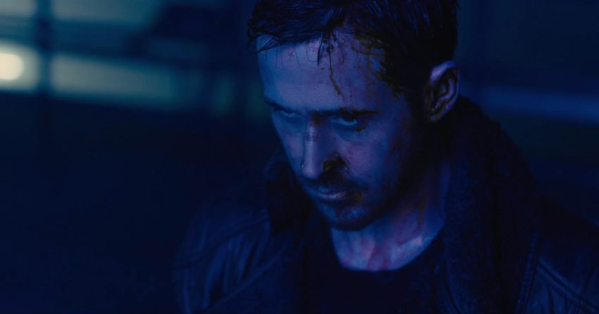 Photo de Ryan Gosling ensanglanté pour Blade Runner 2049