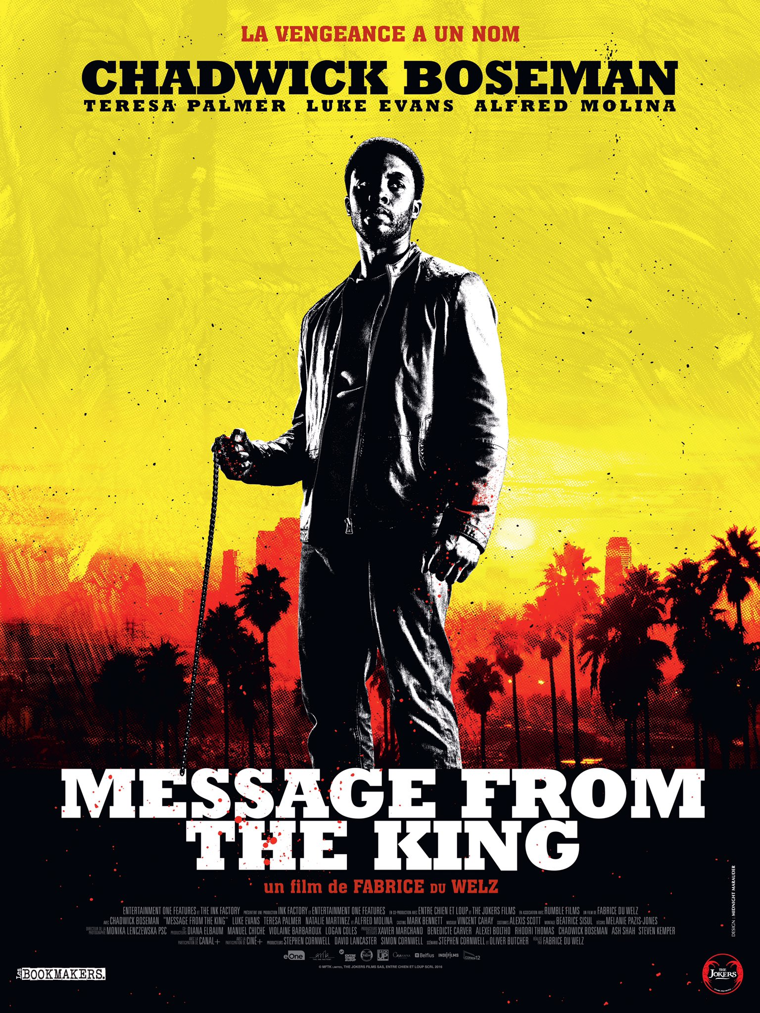 Affiche française de Message from the King