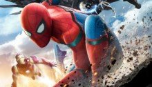 Poster de Spider-Man: Homecoming avec Iron Man et le Vautour