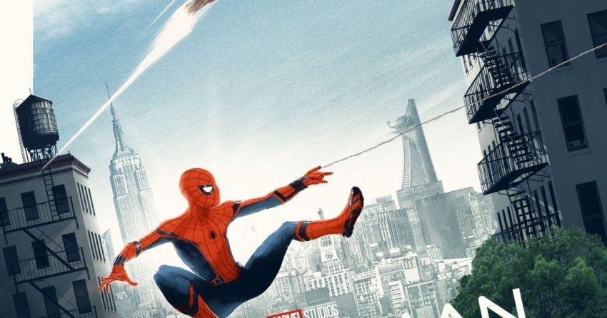Poster du film Spider-Man: Homecoming par Matt Ferguson