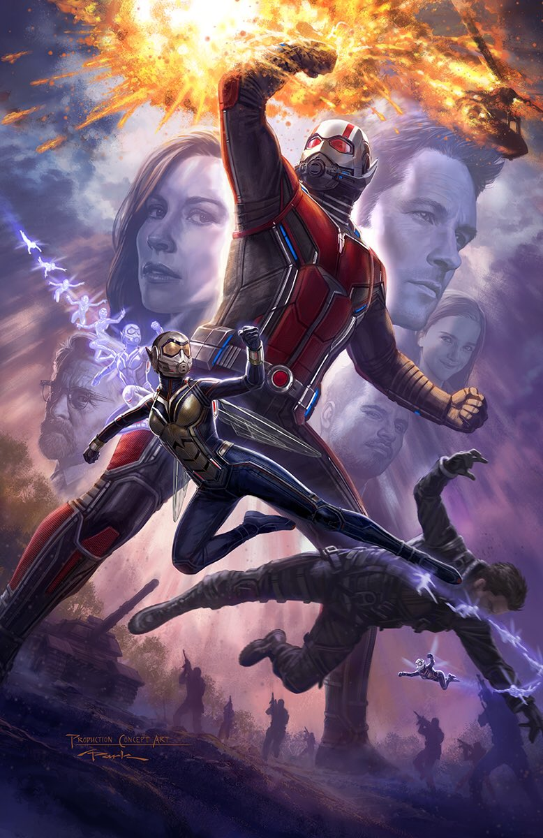 Concept art du film Ant-Man and the Wasp par Andy Park