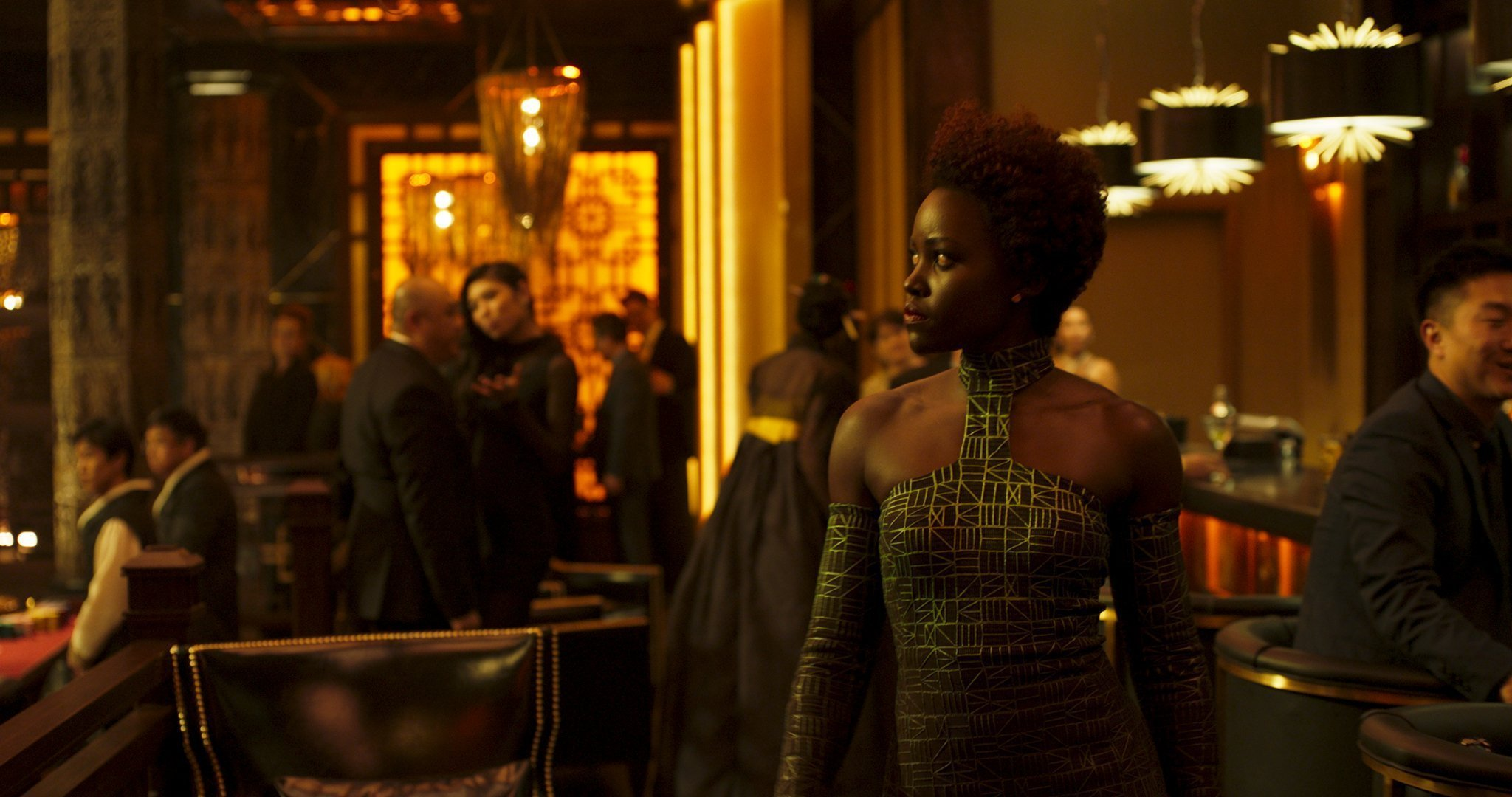 Photo du film Black Panther réalisé par Ryan Coogler avec Lupita Nyong'o