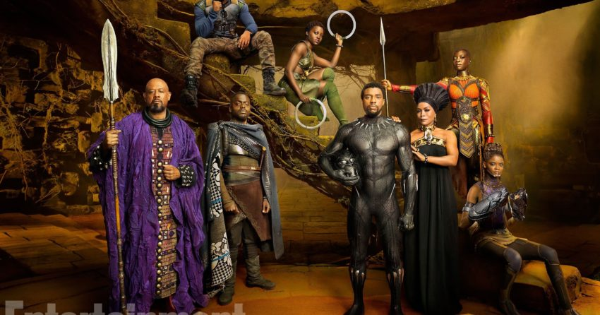 Photo du casting du film Black Panther réalisé par Ryan Coogler