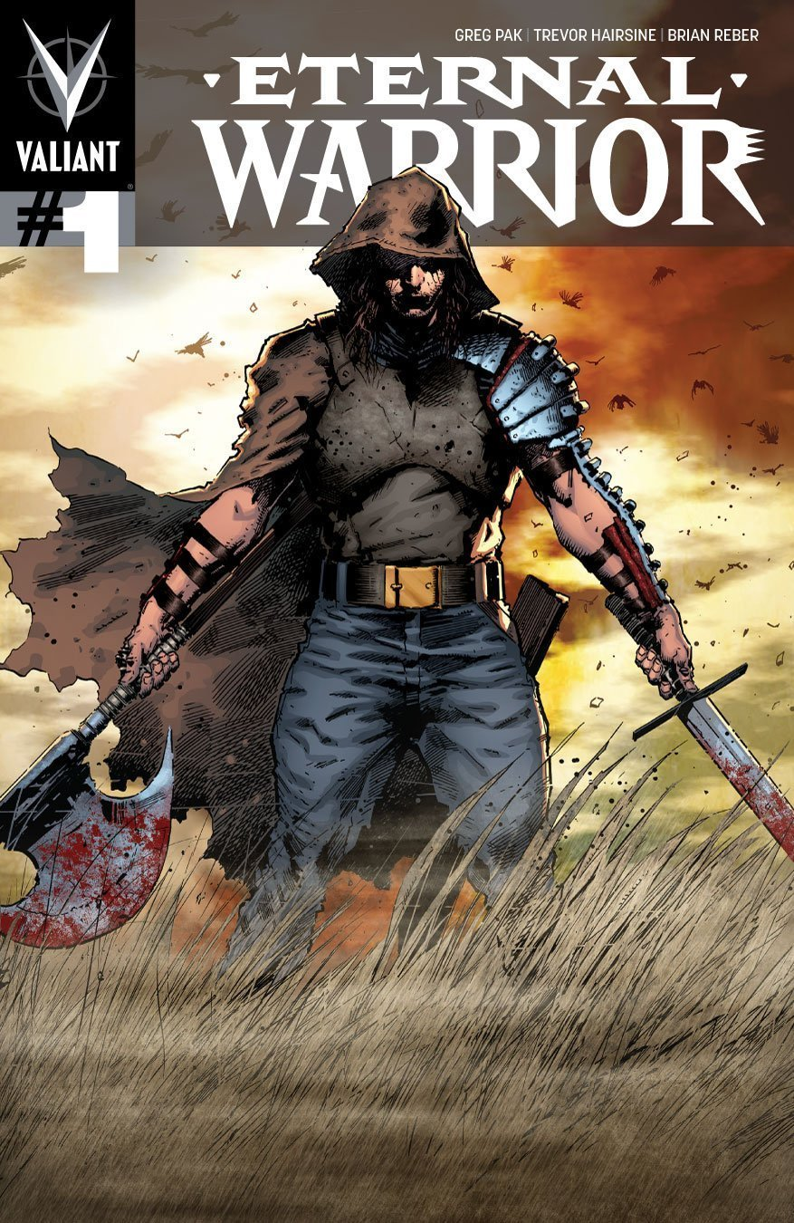 Couverture du numéro 1 d'Eternal Warrior (Valiant Comics)