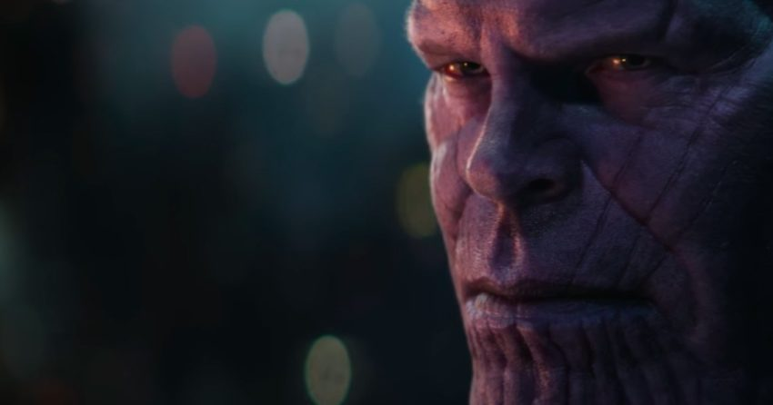 Photo du film Avengers: Infinity War avec Thanos pour le Super Bowl 2018