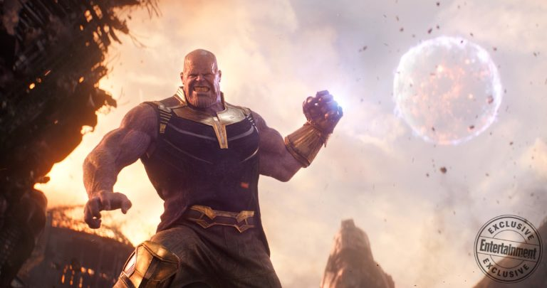 Photo du film Avengers: Infinity War avec Josh Brolin (Thanos)