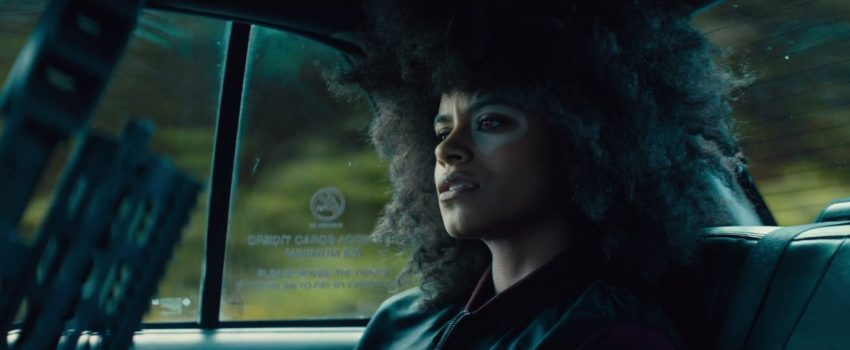 Photo du film Deadpool 2 avec Zazie Beetz dans le rôle de Domino