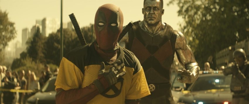 Photo du film Deadpool 2 avec Deadpool et Colossus