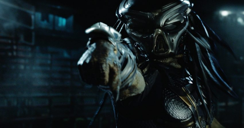 Photo du film The Predator (2018) par Shane Black avec le Predator