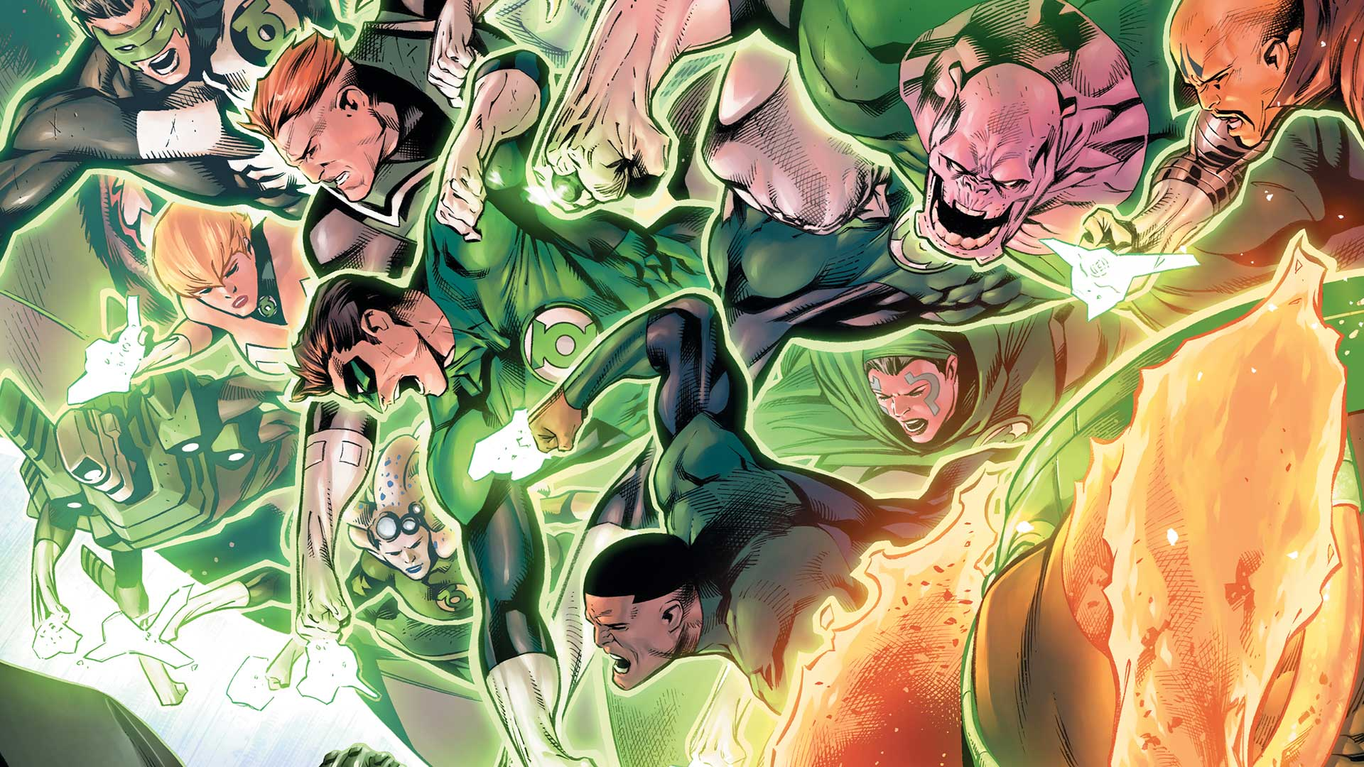 Image du numéro 39 du comic Hal Jordan and the Green Lantern Corps