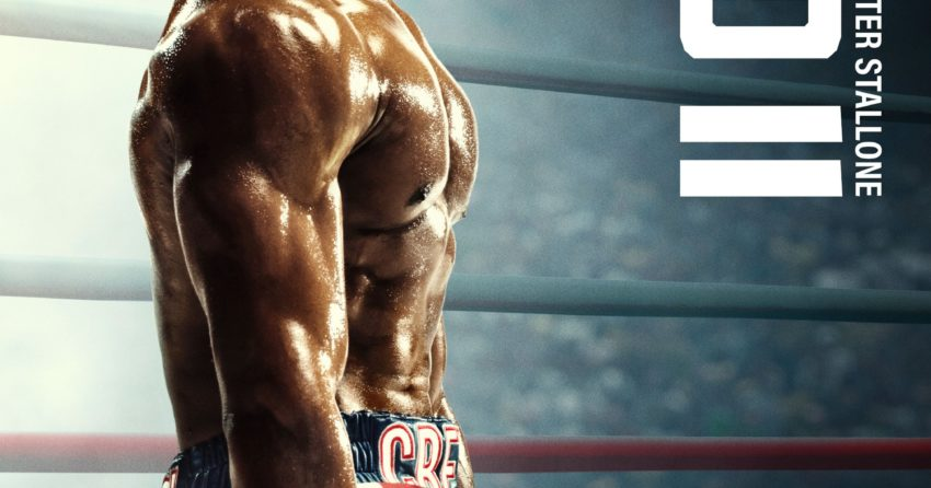 Poster du film Creed II réalisé par Steven Caple Jr. avec Michael B. Jordan (Adonis Creed)