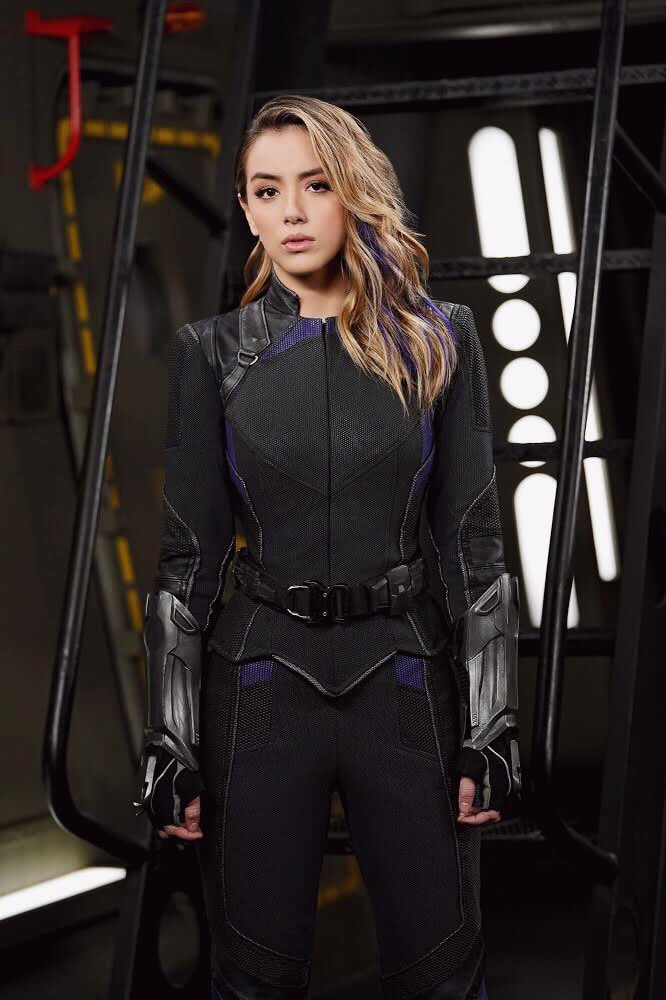 Photo du nouveau costume de Quake (Chloe Bennet) pour la saison 6 de la série Agents of SHIELD