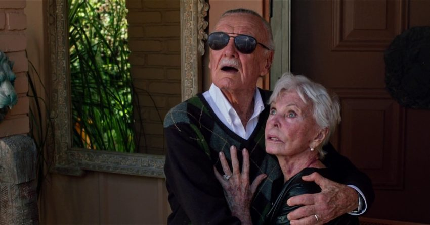 Photo de Stan Lee et sa femme, Joan