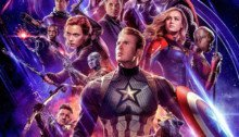Poster officiel du film Avengers: Endgame réalisé par Anthony et Joe Russo