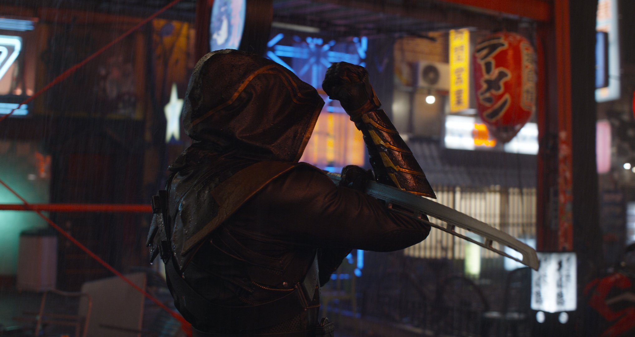 Photo du film Avengers: Endgame avec Ronin (Jeremy Renner)