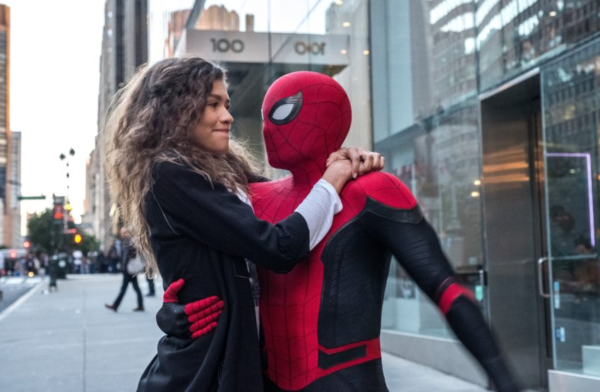 Photo du film Spider-Man: Far From Home avec Tom Holland et Zendaya