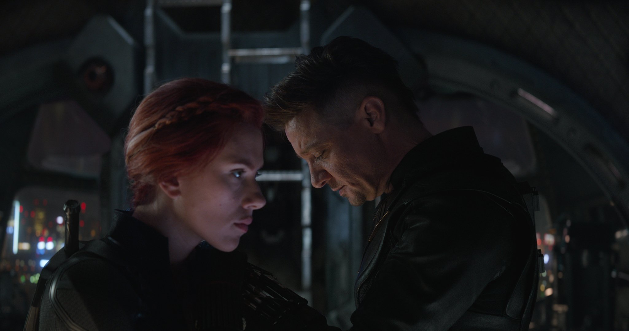 Photo du film Avengers: Endgame avec Black Widow et Hawkeye
