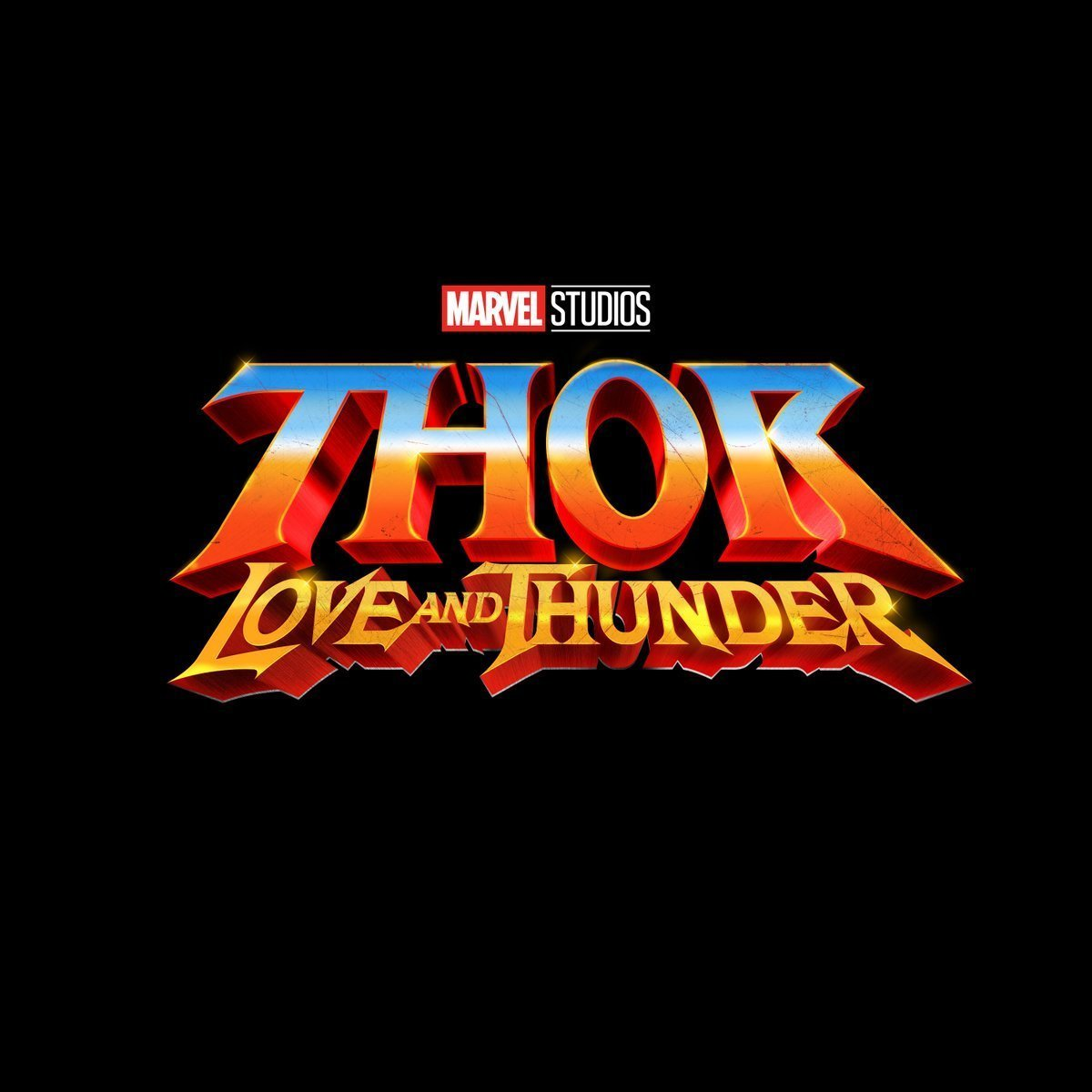 Le logo du Marvel Studios, Thor: Love and Thunder