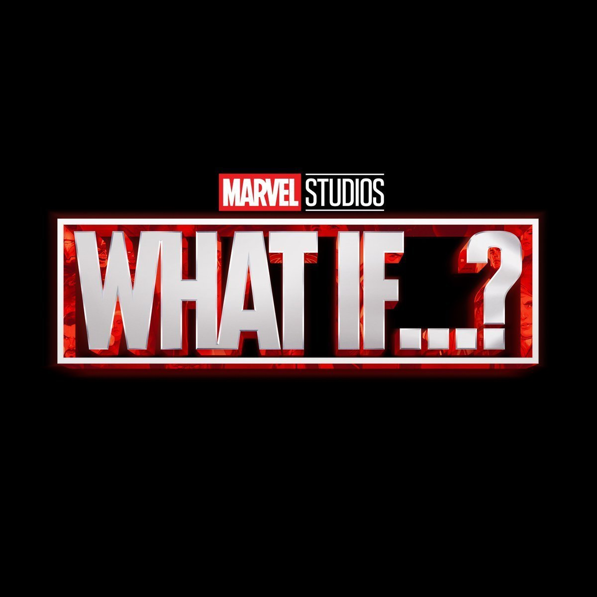 Le logo du Marvel Studios, What If...?