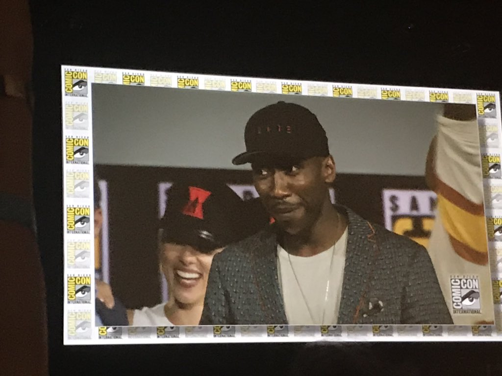Photo pour le Marvel Studios, Blade, à la Comic-Con 2019 avec Mahershala Ali