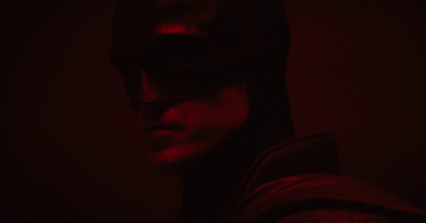 Photo de la vidéo test de Robert Pattinson dans le costume pour le film The Batman