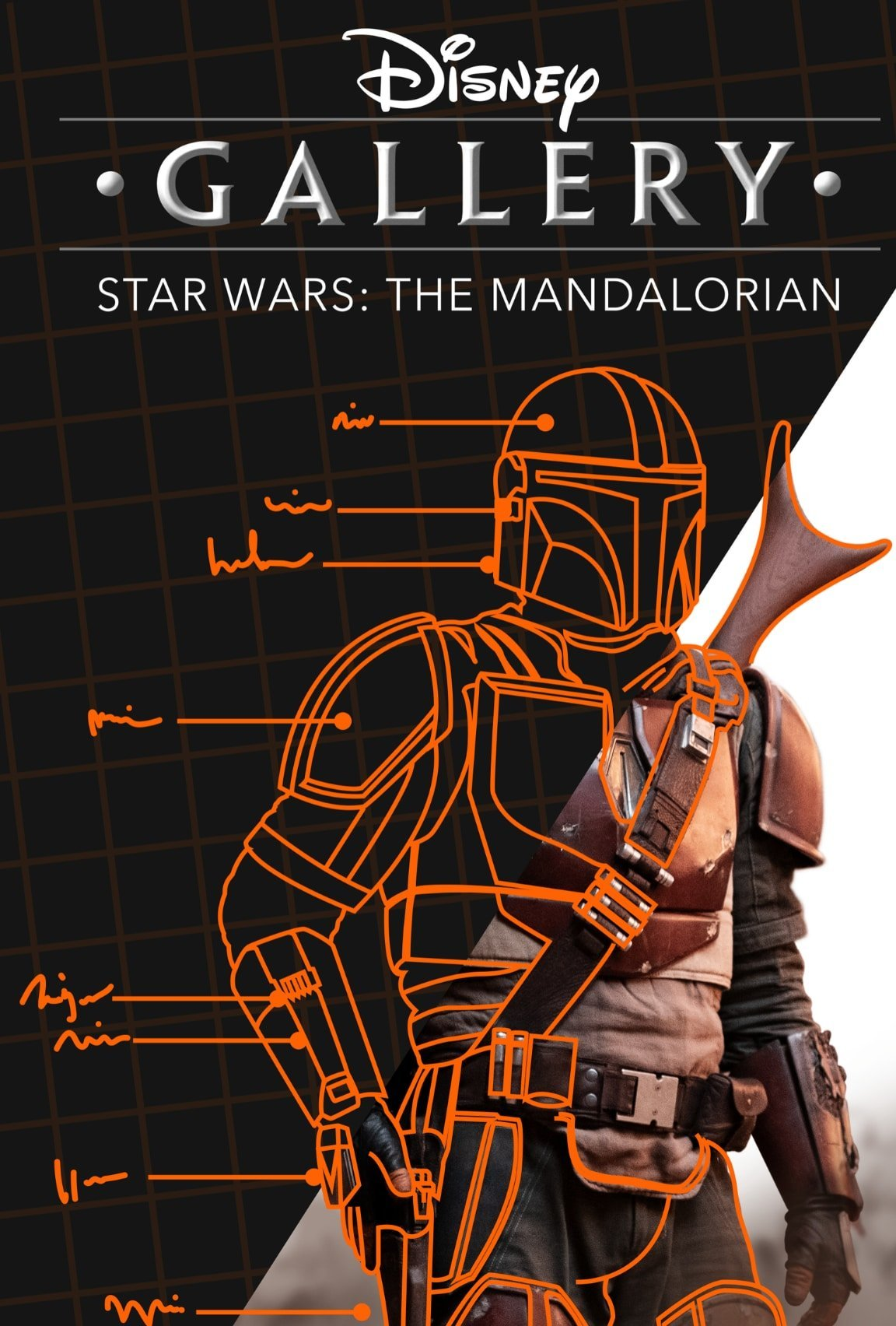 Poster de la série documentaire Disney+, Les making-of – Star Wars : The Mandalorian