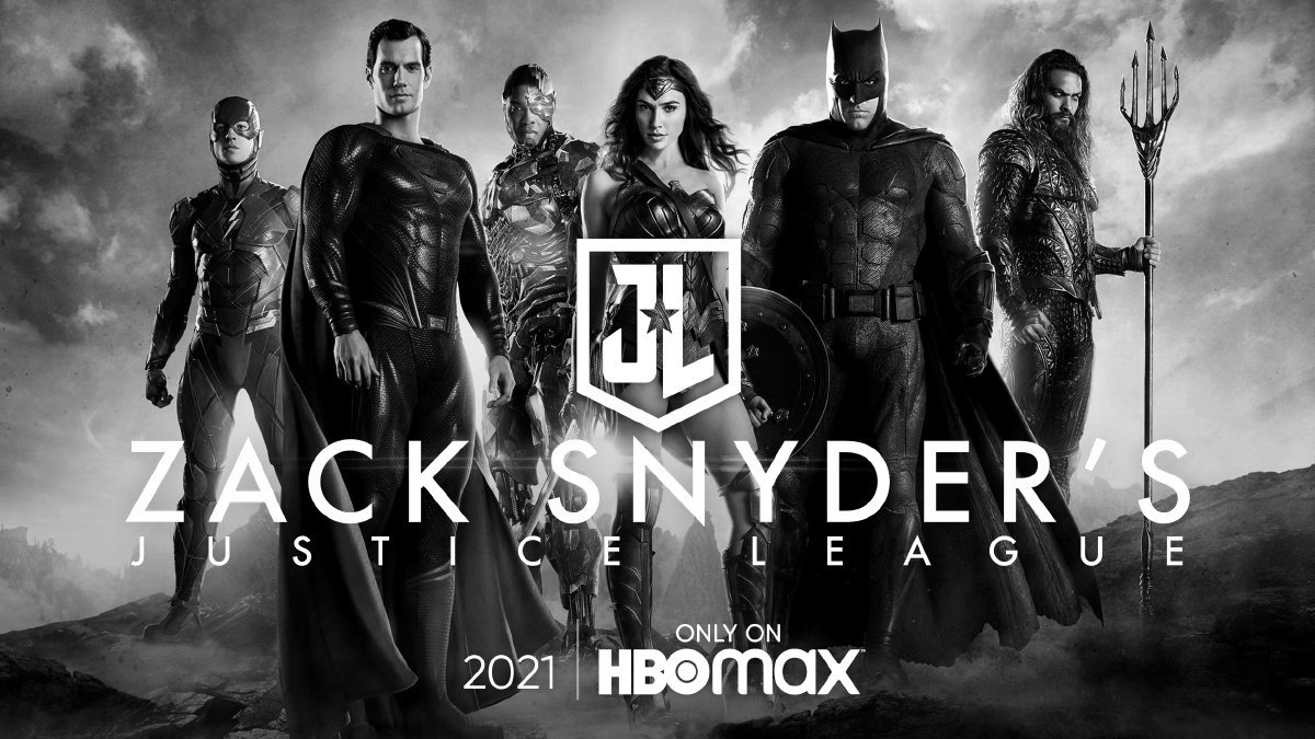 Photo officielle du Snyder Cut du film Justice League prévu sur HBO Max en 2021