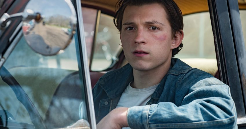 Photo du film Netflix, Le Diable, tout le temps, avec Tom Holland